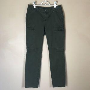 Prana Green Heavyweight Hiking Camping Pants 32x29